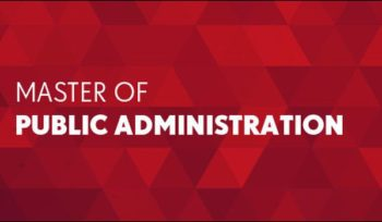 The Master of Public Administration Program
