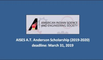 Aises A.T Anderson Scholarship
