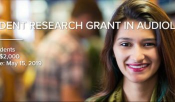 Student Research Grant in Audiology