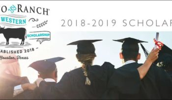 The Pinto Ranch Western Achievement Scholarship
