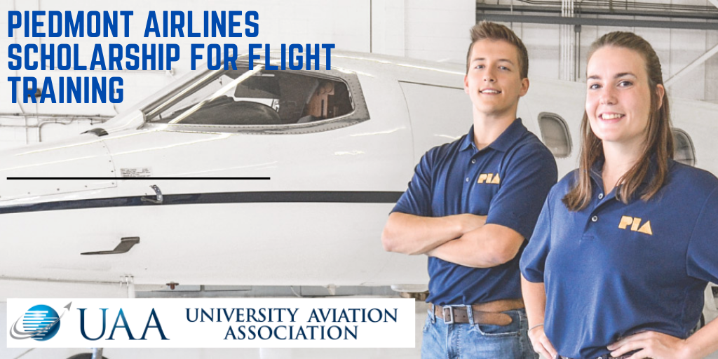 Piedmont Airlines Scholarship for Flight Training - 2020 ...