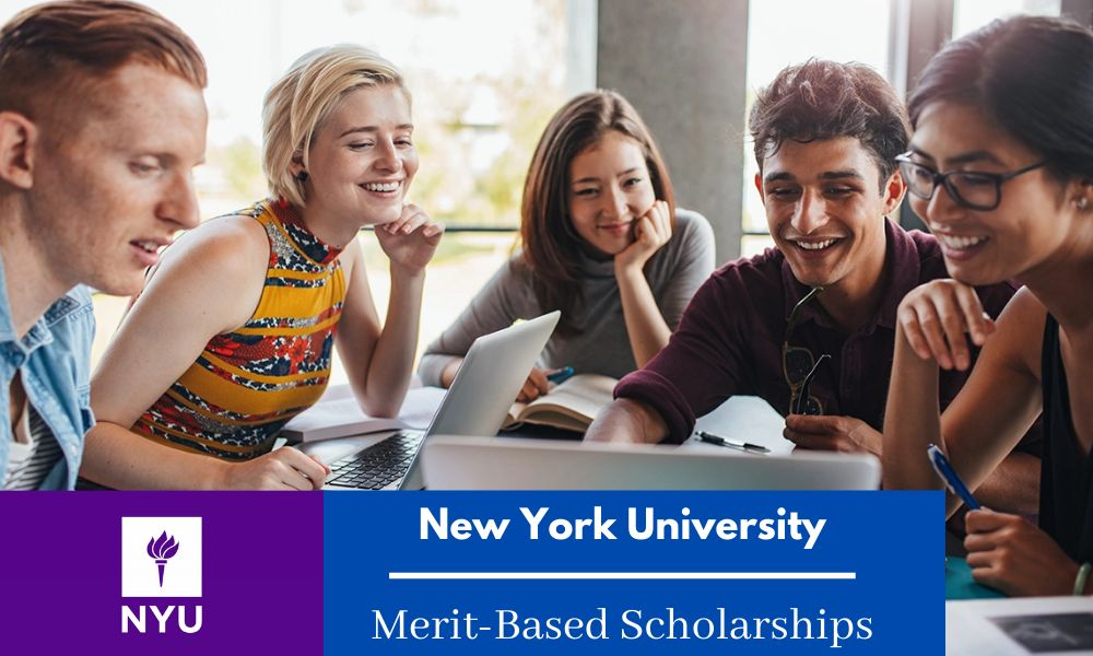 New York University Merit-Based Scholarships 2020-21