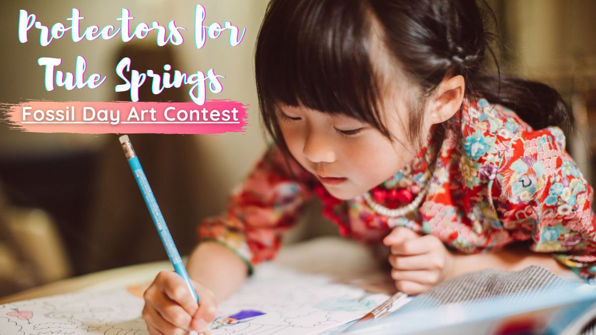 Protectors for Tule Springs Fossil Day Art Contest