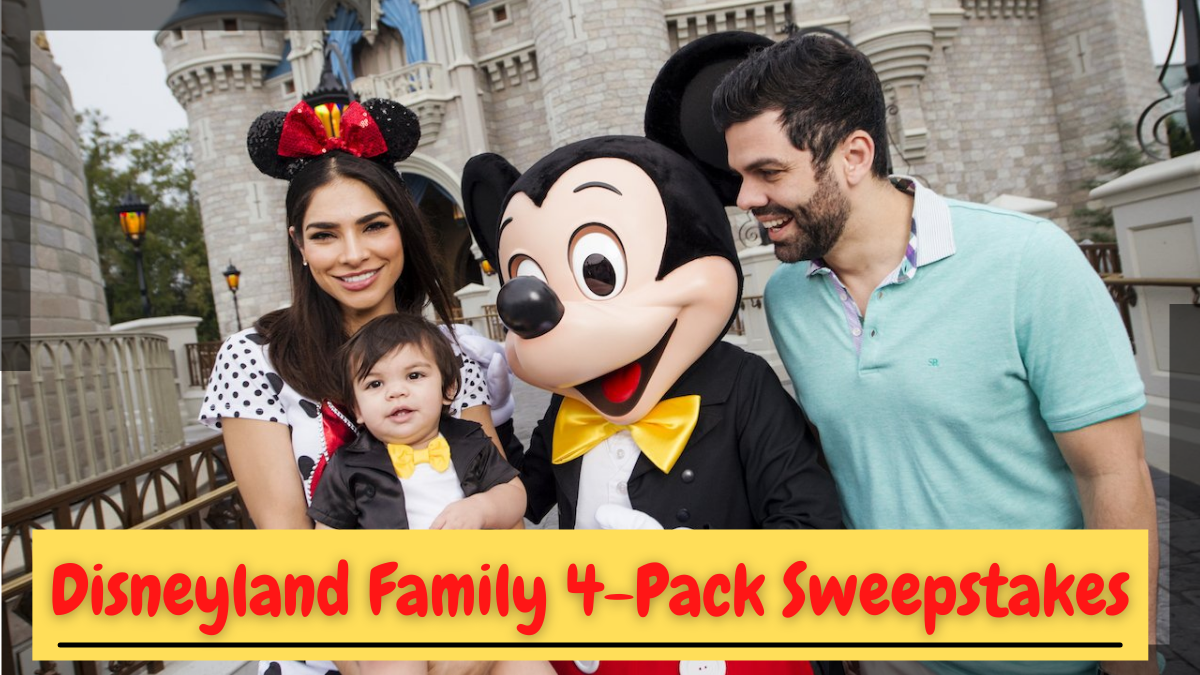 Disneyland Family 4-Pack Sweepstakes