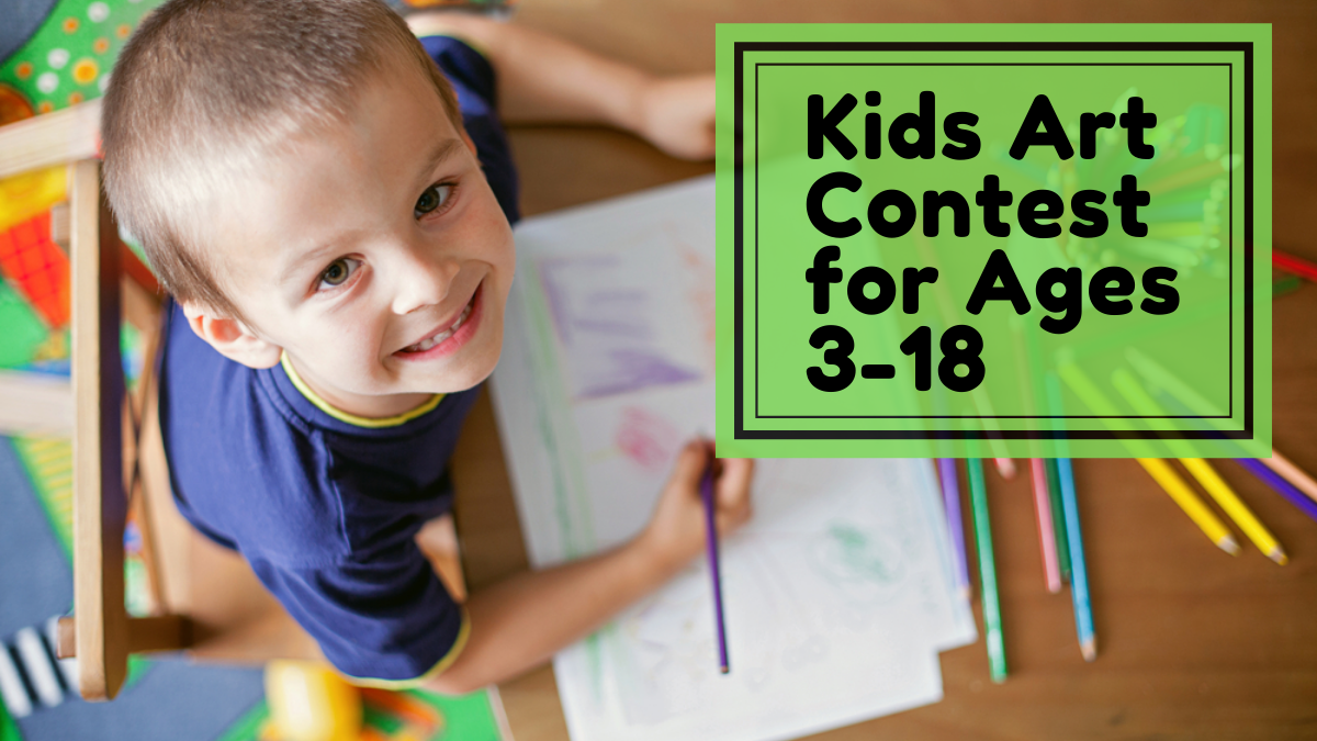 Kids Art Contest for Ages 3-18