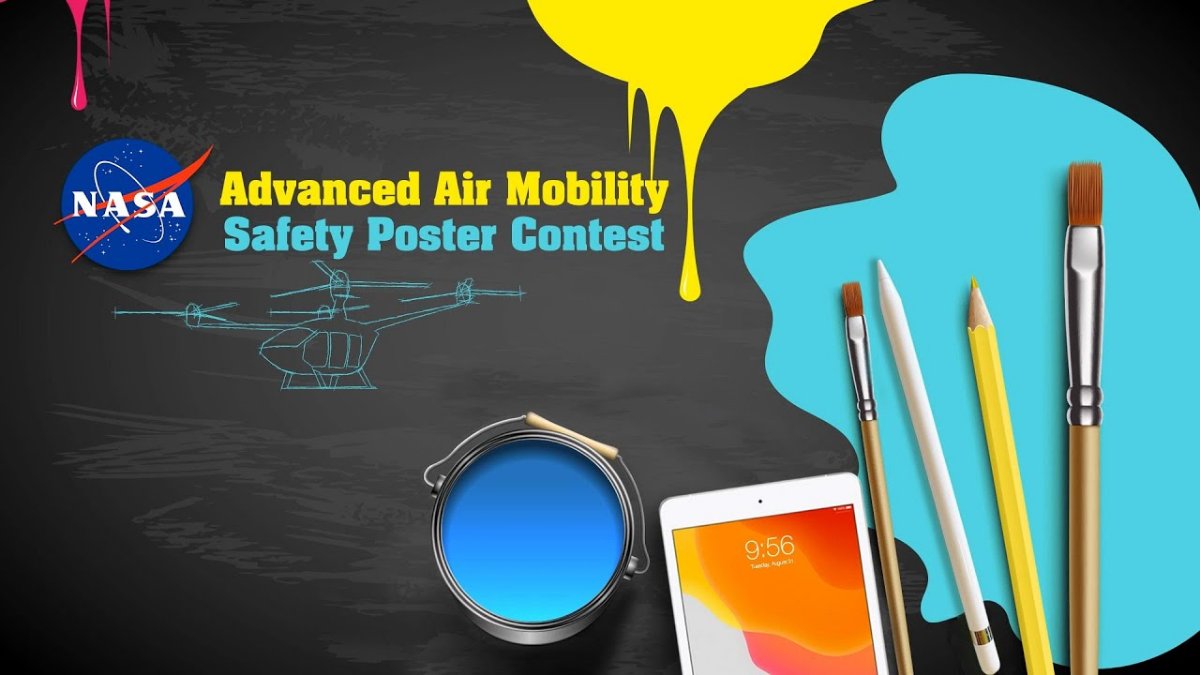 NASA's Advanced Air Mobility Safety Poster Contest